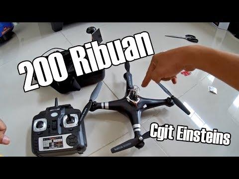 SH5 Drone murah 200 ribuan bisa apa ? Cek aja video ini, dijamin berfaedah :D