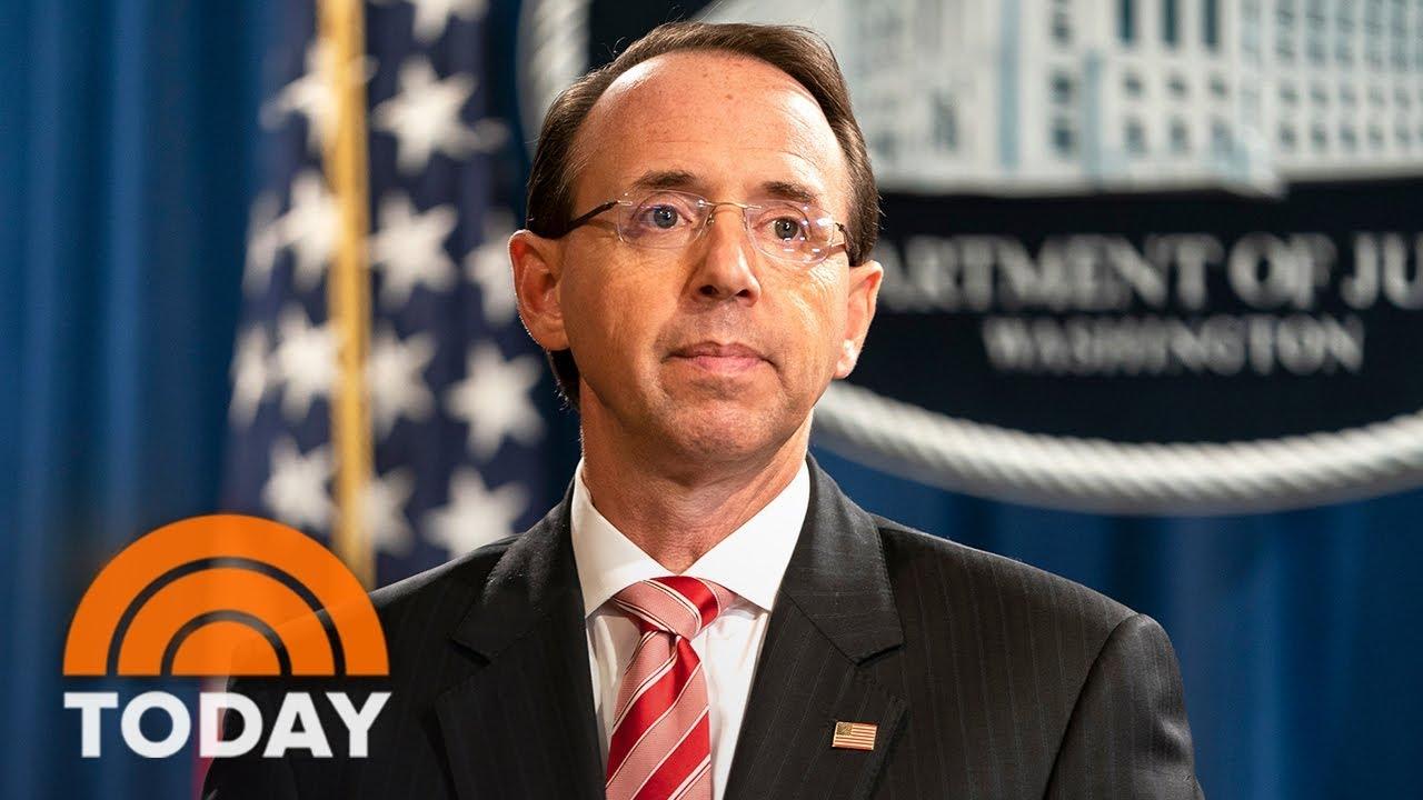 McCabe says DOJ talked 25th Amendment, Rosenstein offer to wear wire around ...