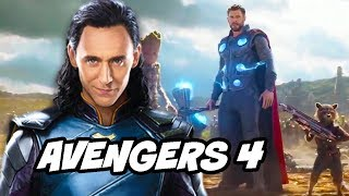 Avengers 4 Scene Explained and How Loki Can Return