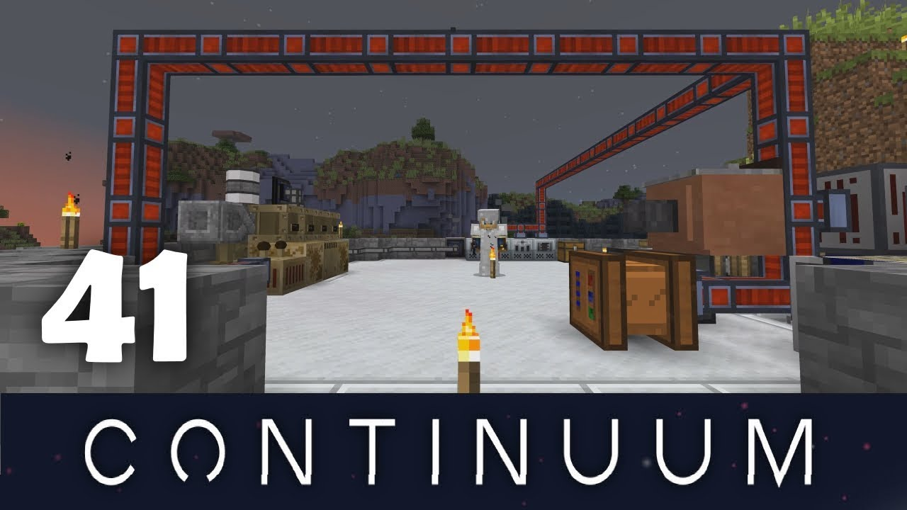 Minecraft FTB Continuum - Episode 41: Overclocker