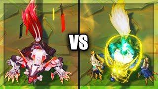 PROJECT: Warwick vs Lunar Guardian Warwick Epic Skins Comparison (League of Legends)