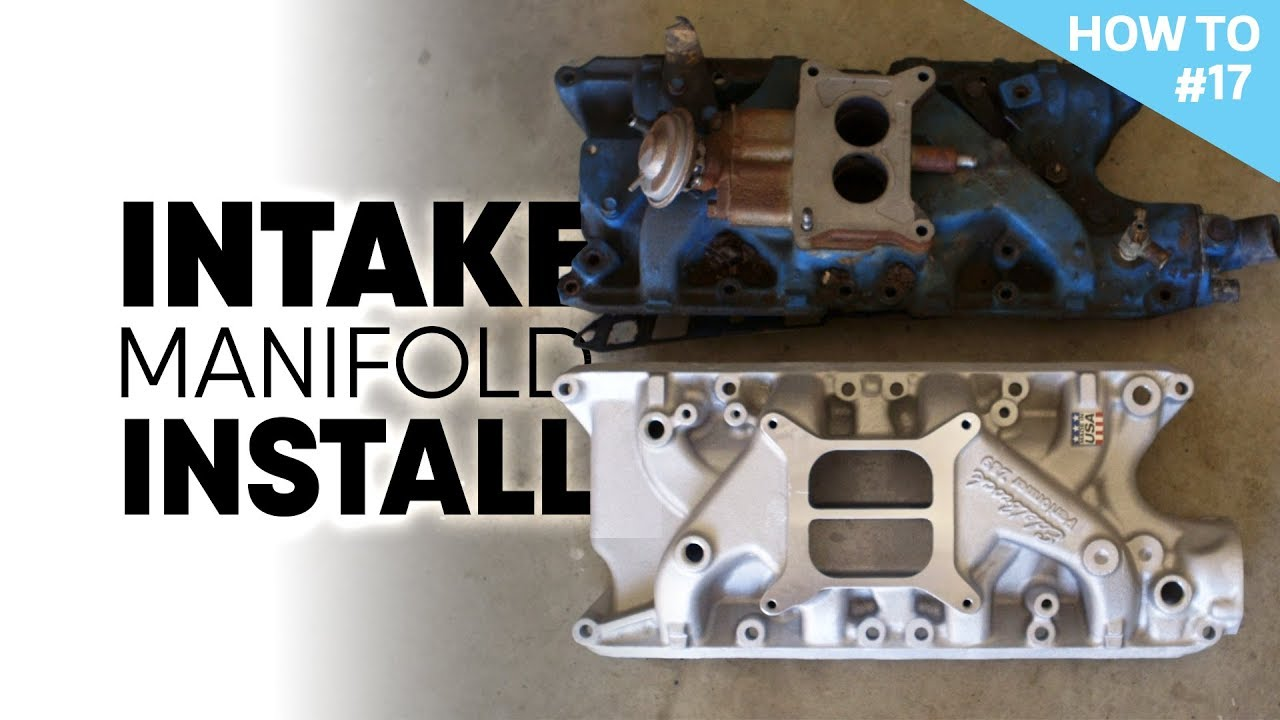 medium resolution of installing an intake manifold on a ford 302 engine h2 17 nashville early bronco