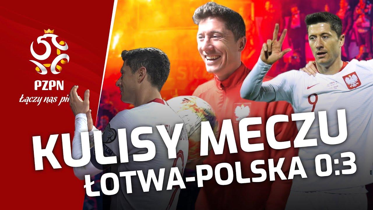 """CO LEWY DOSTAJE """"PO HATTRICZKU""""? Kulisy meczu Łotwa – Polska"""