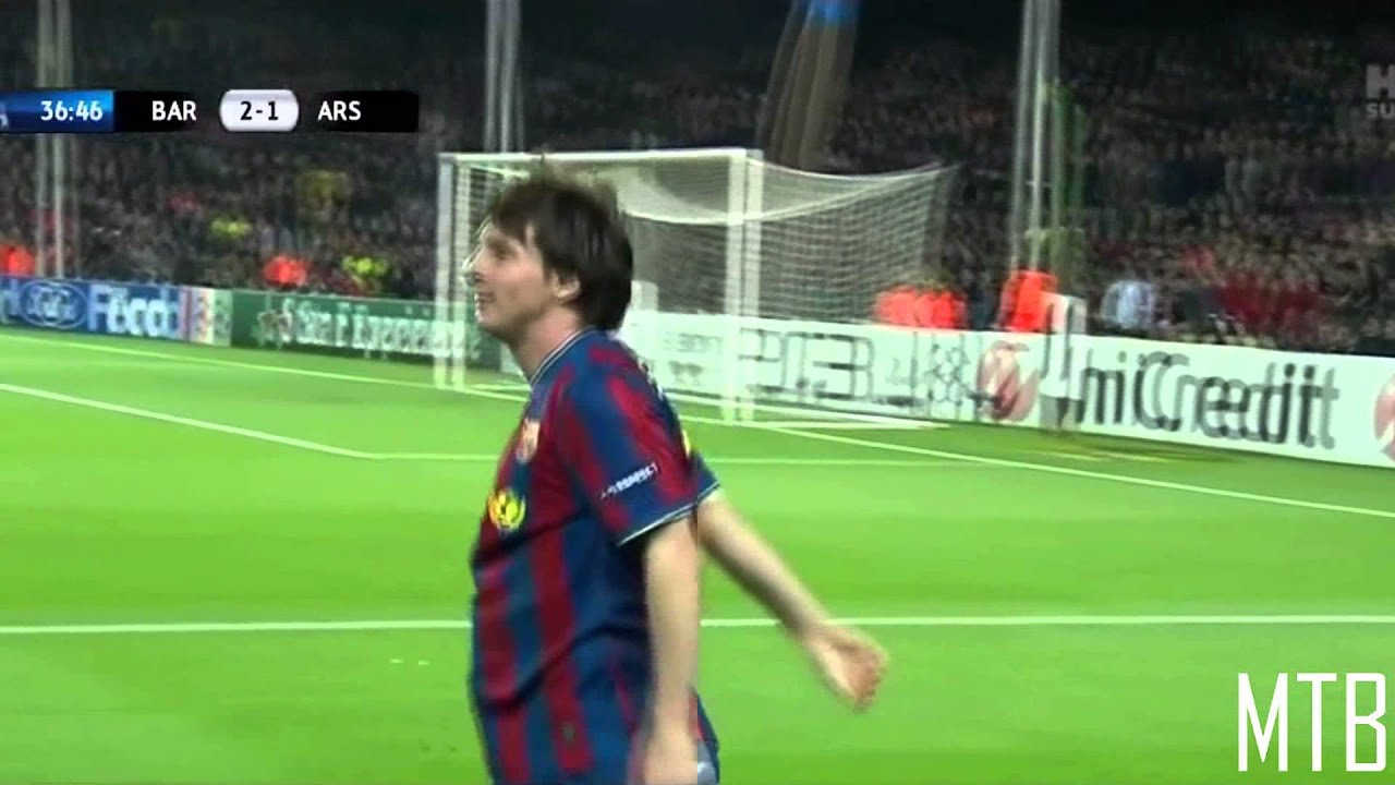 Lionel Messi - Started UEFA Champions League (2014/2015 ...