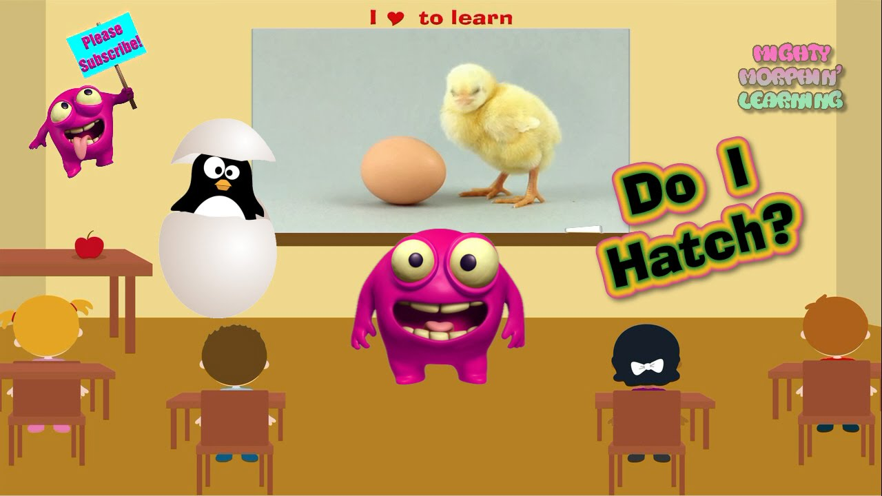 Kids Learn About Animals That Hatch | Fun Animal Egg Game | Mighty ...