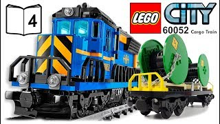 LEGO CITY 60052 Cargo Train Video Instructions 4