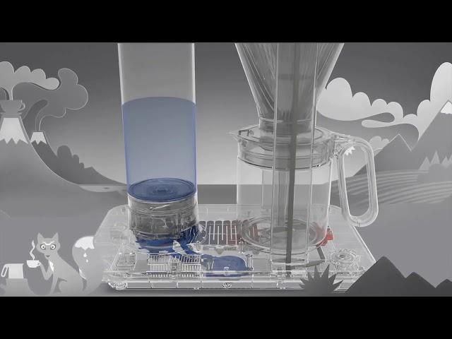 Wilfa SVART 北歐滴漏式咖啡機 動畫使用介紹