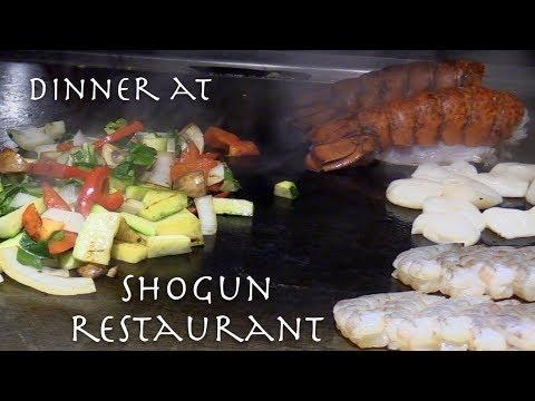 Dinner At Shogun Japanese Restaurant - Teppan Steak & Sushi