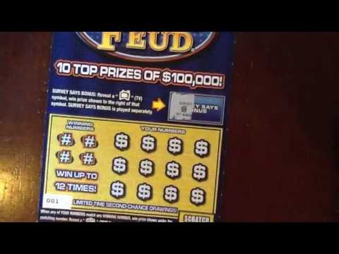 NEW: $5 Family Feud & Money Clip - PA Lottery