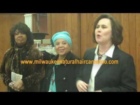 Milwaukee Natural Hair Care Expo 'Big Check press conference'