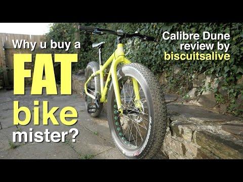 Calibre Dune FAT bike review. Why buy a fat bike? Best cheap fat bike?