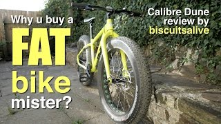 Calibre Dune FAT bike review. Why buy a fat bike? Best cheap fat bike?