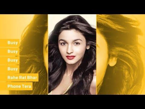 Busy Busy Rahe Rat Bhar Phone Tera   Full Screen Status Video   Nisha Rai Creation