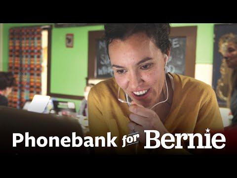 Phonebank Your Way to History | Bernie Sanders