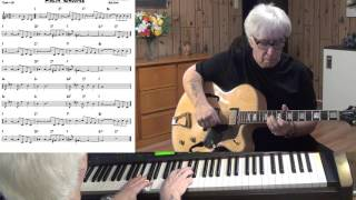 Makin' Whoopee - Jazz guitar & piano cover ( Walter Donaldson & Gus Kahn )