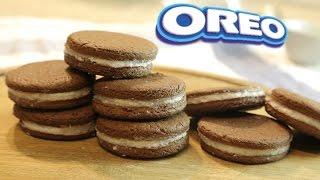 Как приготовить OREO дома, ООЧЕНЬ ВКУСНОЕ шоколадное печенье  [Simple Food - видео рецепты]