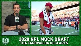 2020 NFL Mock Draft: Tua Tagovailoa declares - Will he go Top 5? I Pick Six Podcast