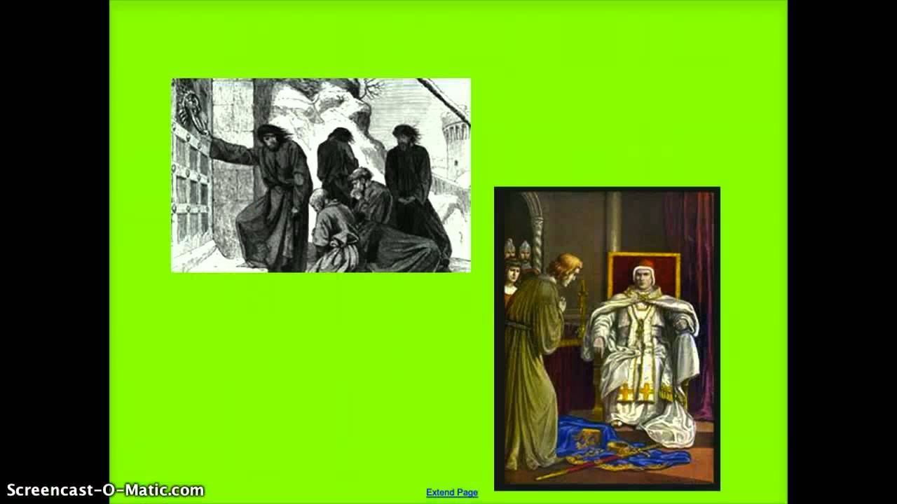 Pope Gregory VII & Henry IV - YouTube