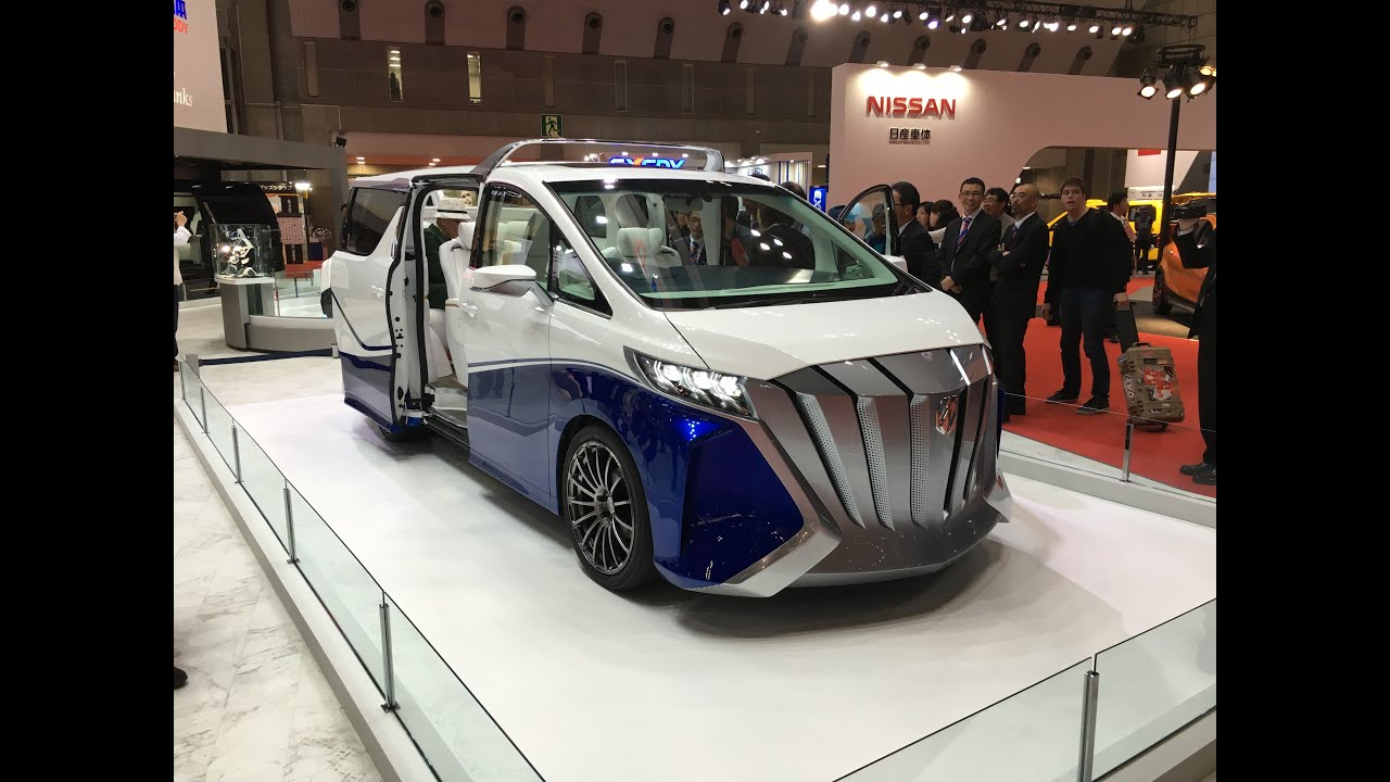 all new alphard 2020 model grand avanza 2015 tokyo motor show toyota concept youtube