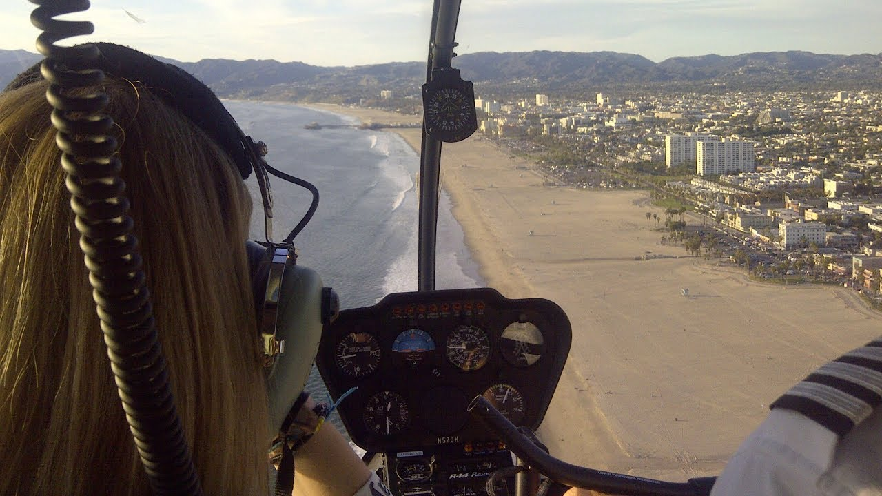 Los Angeles Helicopter Tour Over Californias Coastline YouTube
