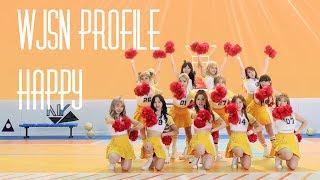 "Video WJSN (Cosmic Girls) Profile | ""Happy"" download MP3, 3GP, MP4, WEBM, AVI, FLV Maret 2018"