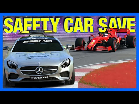 F1 2020 My Team Career : The Safety Car Saved Me!! (F1 2020 Part 51)