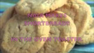 Oven Toaster: Sugar Cookies/ Shortbread