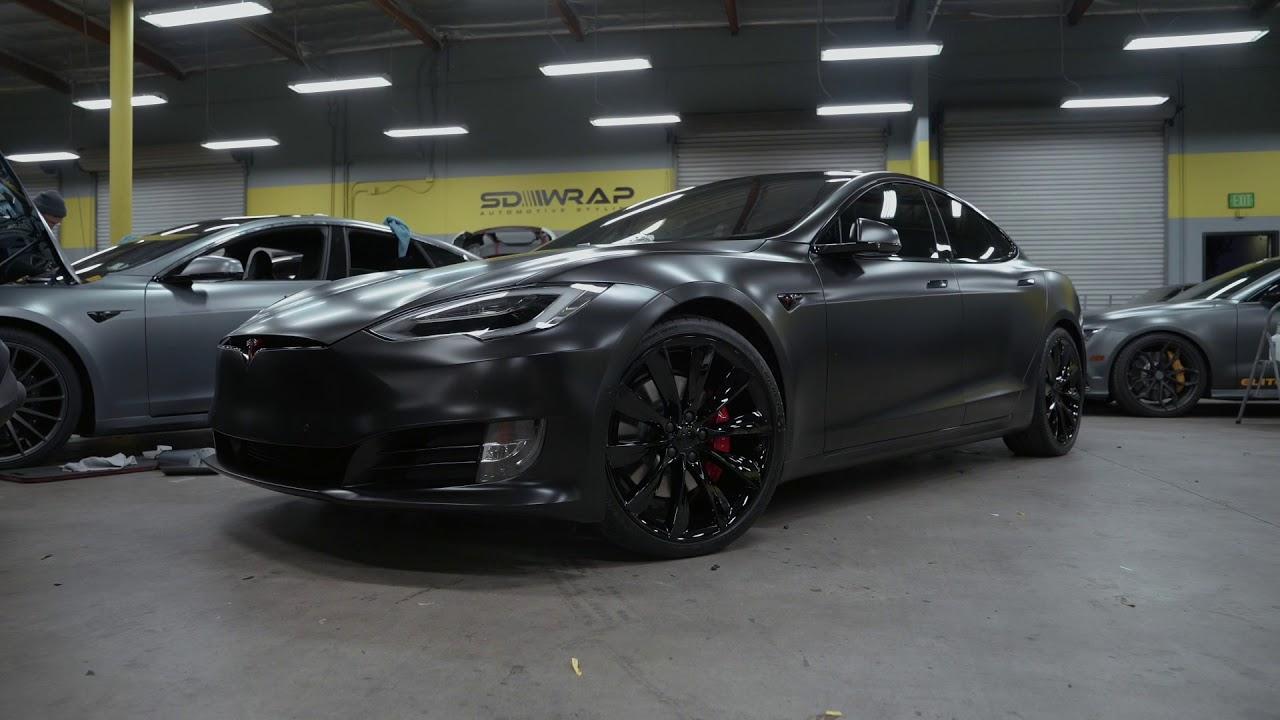 Tesla Heaven At Sd Wrap 2 Insane Model S Transformations