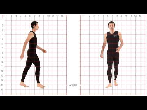 Animation Reference - Athletic Male Standard Walk