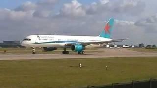 MAN Manchester Airport departures. 03/07/2005