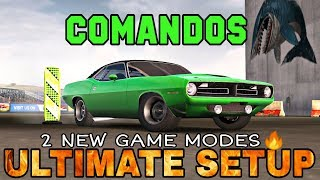 Comandos Ultimate Setup + Test Drive! (Plymouth Hemi Cuda)   2 new game modes   CarX Drift Racing