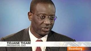 Thiam Says Prudential Is `Riding Wave