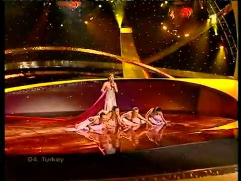 Eurovision 2003 - Turkey - Sertab Erener - Everyway that I can [WINNER] HQ