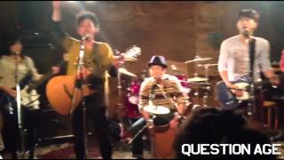 THE山脈BAND 「Question Age」 stand up Question age はてな空見上げて...