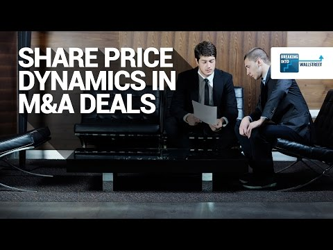 Share Price Dynamics in M&A Deals