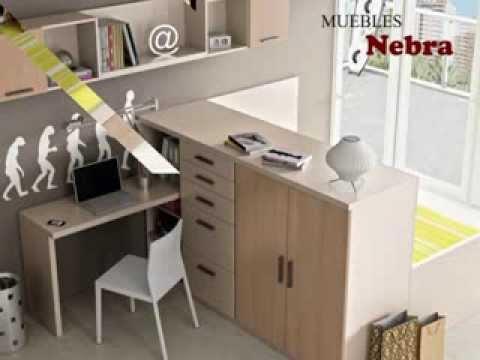 muebles nebra dormitorios juveniles en zaragoza youtube