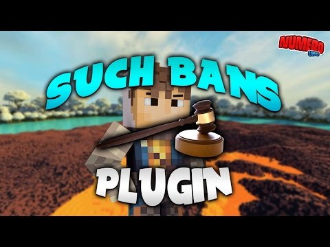 SUCH BANS GUI! | Minecraft Plugin Tutorial