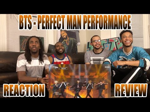 BTS - PERFECT MAN REACTION/REVIEW