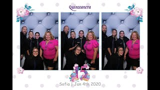 PHOto Mirror Booth @ Quinceanera | The Club at Renaissance, FL