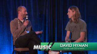 This Week in Music - David Hyman, Founder and CEO of MOG.com