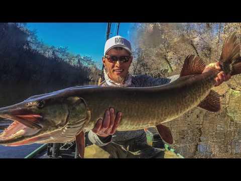 Mi Primer Viaje de Pesca de Muskie (Marzo 2018)