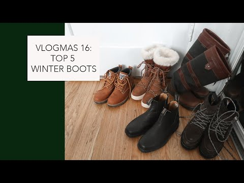 TOP 5 WINTER BOOTS | MY FAVES