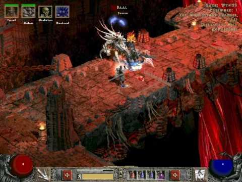 Diablo 2 level 91 necro mf run