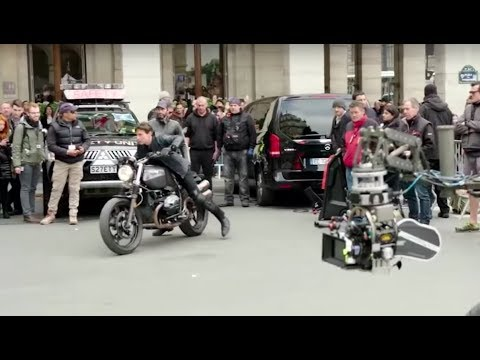 Mission Impossible Fallout Shut Down The Streets Of Paris Youtube