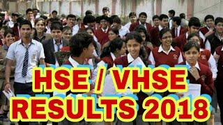 Kerala HSE / VHSE RESULTS 2018