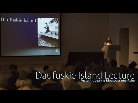 Lecture on Daufuskie Island featuring Jeanne Moutoussamy-Ashe (Audio)