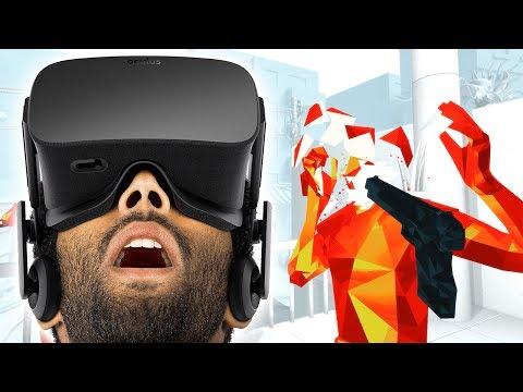 OCULUS RIFT + SuperHot VR = SCHWITZEN