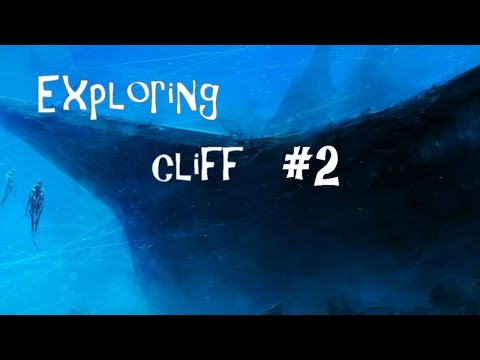 Exploring scary underwater cliff #2
