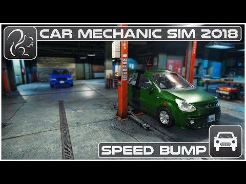 Car Mechanic Simulator 2018 (PC) - Episode #4 - Speed Bump
