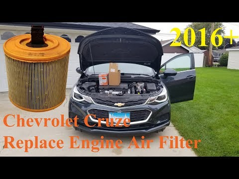 Chevrolet Cruze(2016+) - Replace Engine Air Filter